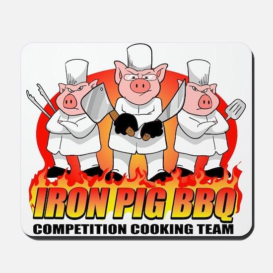 Iron Pig BBQ Mousepad