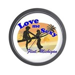 Love Me Sexy Wall Clock