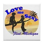 Love Me Sexy Tile Coaster
