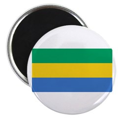 Gabon Blank Flag 2.25