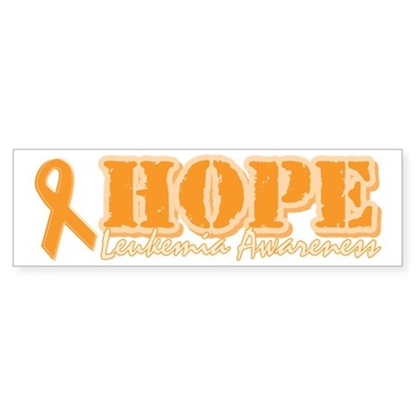 Leukemia Awareness Bumper Sticker