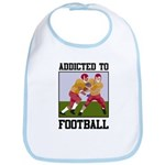 Addicted To Football Bib