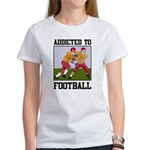 Addicted To Football Women's T-Shirt