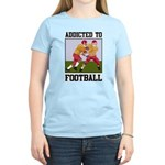 Addicted To Football Women's Light T-Shirt