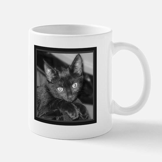 Cute Black Kitty Mug