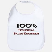 100 Percent Technical Sales Engineer Bib