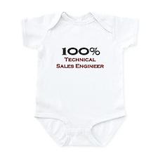 100 Percent Technical Sales Engineer Infant Bodysu