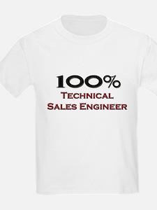 100 Percent Technical Sales Engineer T-Shirt