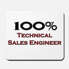 100 Percent Technical Sales Engineer Mousepad