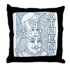 ATHENA and ZEUS Throw Pillow