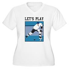 Let's Play Hockey T-Shirt