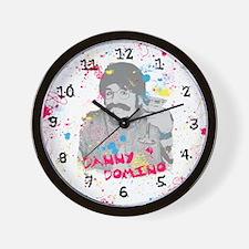 Splatter Up! Wall Clock