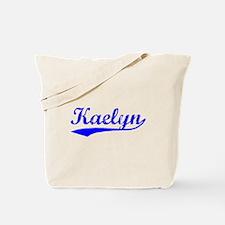 Vintage Kaelyn (Blue) Tote Bag