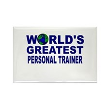 World's Greatest Personal Tra Rectangle Magnet
