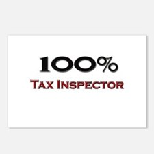 100 Percent Tax Inspector Postcards (Package of 8)