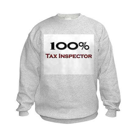 100 Percent Tax Inspector Kids Sweatshirt