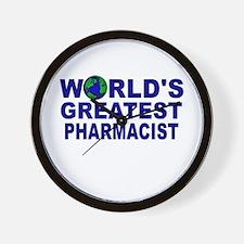 World's Greatest Pharmacist Wall Clock