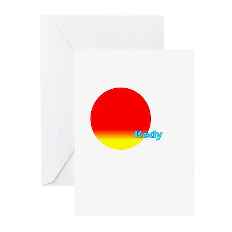 Kody Greeting Cards (Pk of 20)