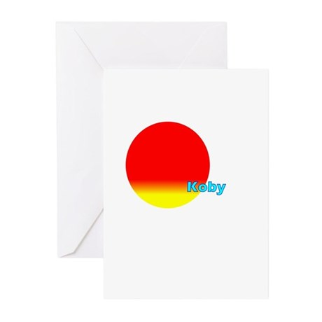 Koby Greeting Cards (Pk of 20)