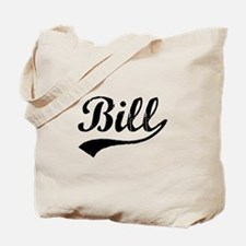 Vintage Bill (Black) Tote Bag