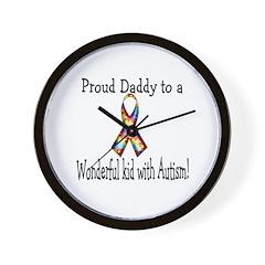 proud Dad! Wall Clock