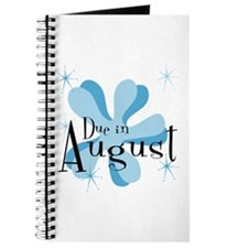 Due In August Retro Splat Journal