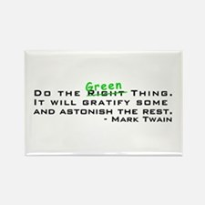 Do the Green Thing Rectangle Magnet