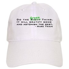Do the Green Thing Baseball Cap