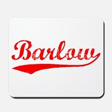 Vintage Barlow (Red) Mousepad