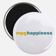 mpg happiness Magnet