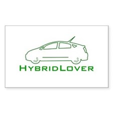 Hybrid Lover Rectangle Decal