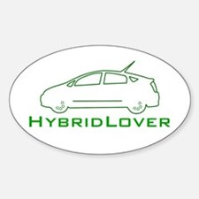 Hybrid Lover Oval Decal