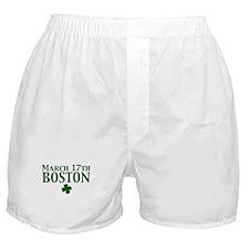 March 17 Boston Boxer Shorts