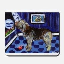 OTTERHOUND whimsical art! Mousepad