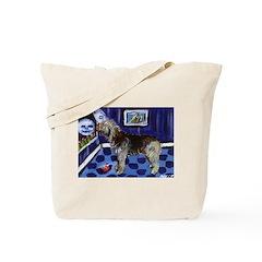 OTTERHOUND whimsical art! Tote Bag