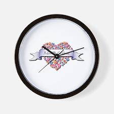 Love My Evil Genius Wall Clock