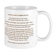 Dr. Luther's Evening Prayer Mug