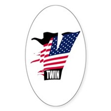 American V-Twin MOTORCYCLES Decal