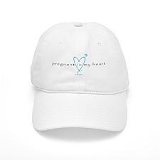 Pregnant in My Heart Baseball Cap