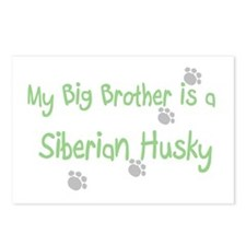 """My Big Brother is a Siberian Postcards (Package o"