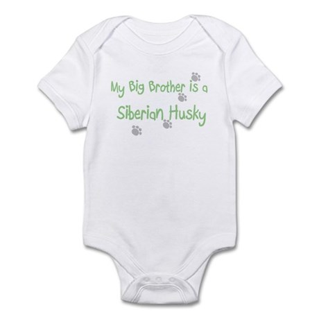 """""""My Big Brother is a Siberian Infant Bodysuit"""