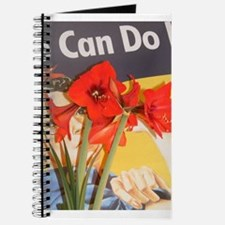 Cute Rosie the riveter we can do it Journal