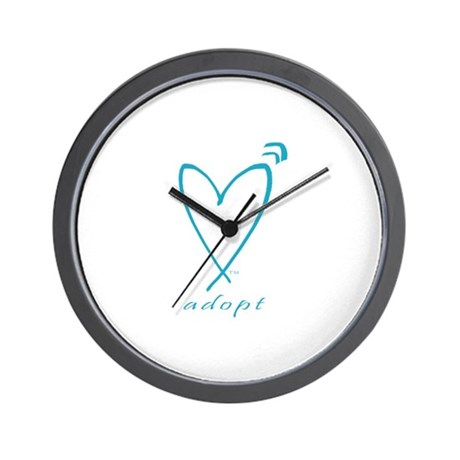 Pregnant in My Heart Wall Clock