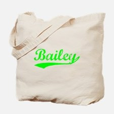 Vintage Bailey (Green) Tote Bag