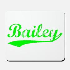 Vintage Bailey (Green) Mousepad