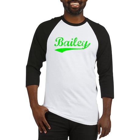 Vintage Bailey (Green) Baseball Jersey