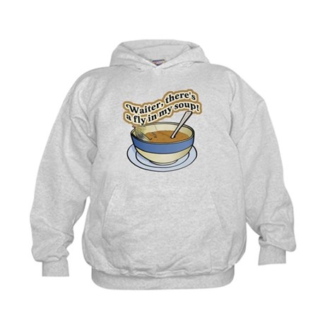 Fly In My Soup Kids Hoodie