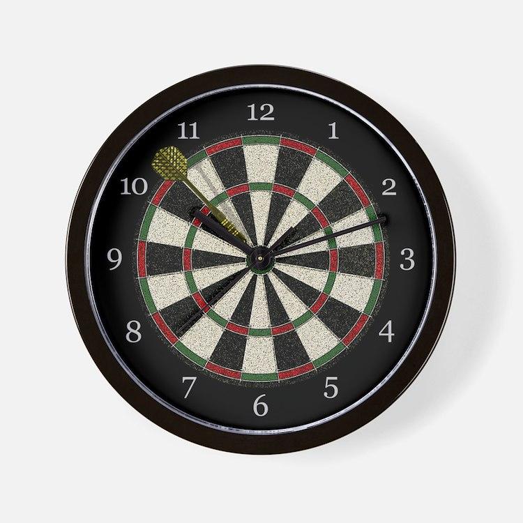 Dartboard Clock