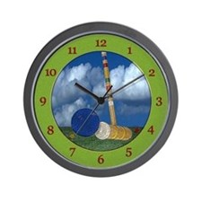 Croquet Clock