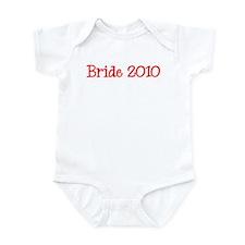 Bride 2010 Infant Bodysuit